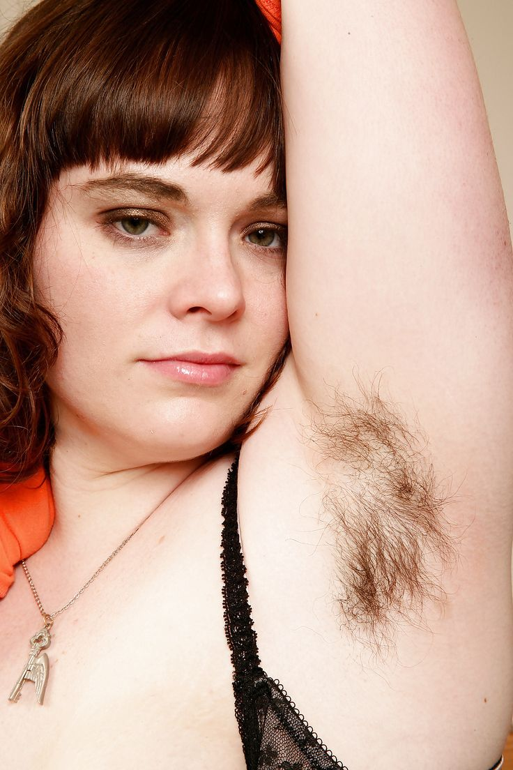 Images of hairy women