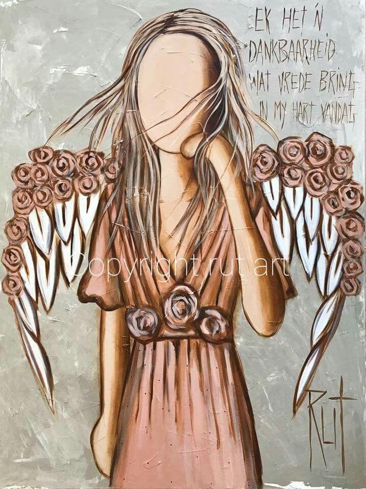 Ek het dankbaarheid wat vrede in my hart bring... #Afrikaans ©Rut[rutcreations.com][Rut Art/FB]  #innerPeace #gratitude