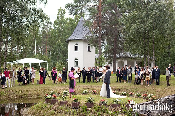 Emilia and Ville's 1920s Countryside Wedding in Mikkeli, Finland