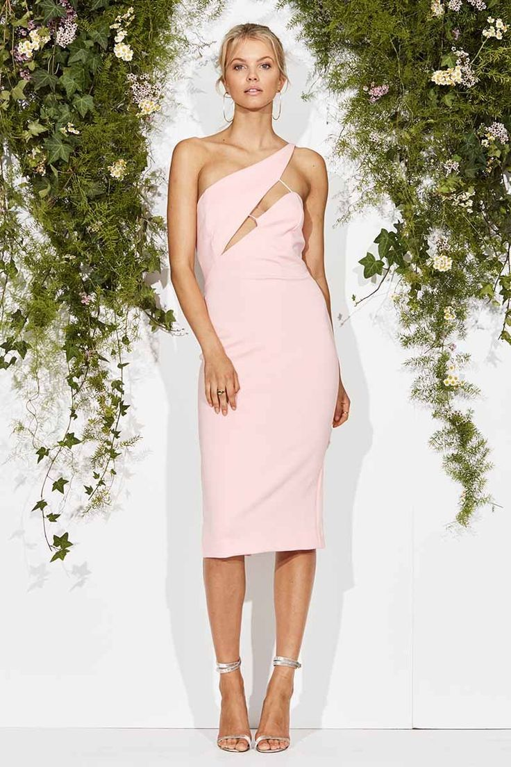 Maurie & Eve - For The Good Times Dress Pale Pink