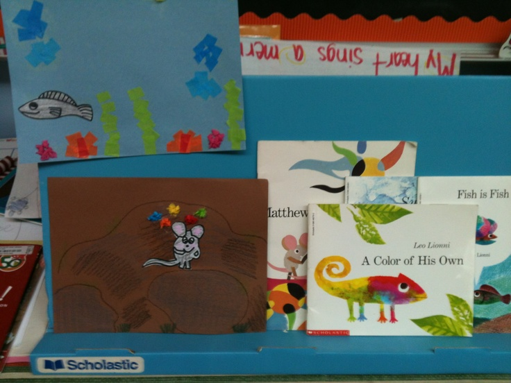 Leo Lionni Books in the Classroom - The Curriculum Corner 123