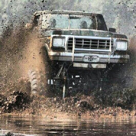 Monster trucks are amazing, because it is the only car you can get muddy.