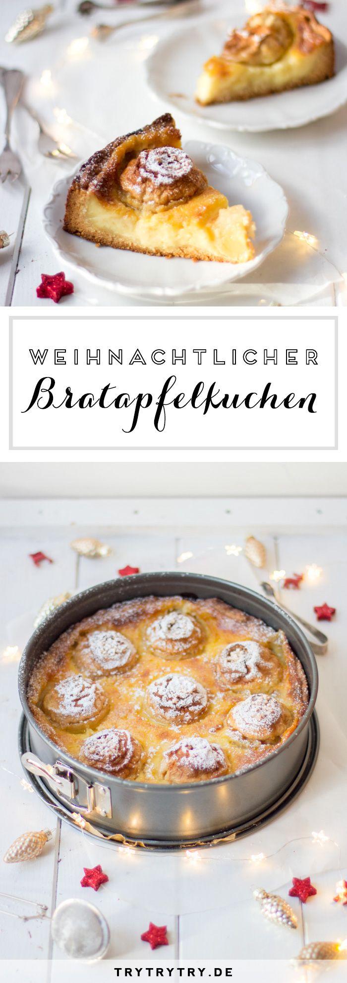 Weihnachtlicher Bratapfelkuchen