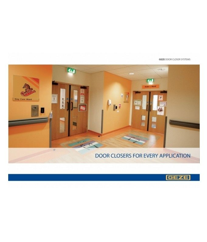 GEZE UKu0027s new Door Closers For Every Application brochure provides a clear and comprehensive overview of  sc 1 st  Pinterest & 161 best Doors images on Pinterest | Automatic doors Buildings and ...
