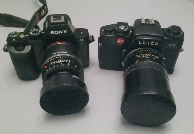 Sony A7r with Leica R glass : via @Frank Doorhof