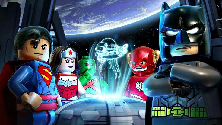 LEGO Batman Прохождение.Гонки на Выживание.Игры и Мультики для Детей.Лег...