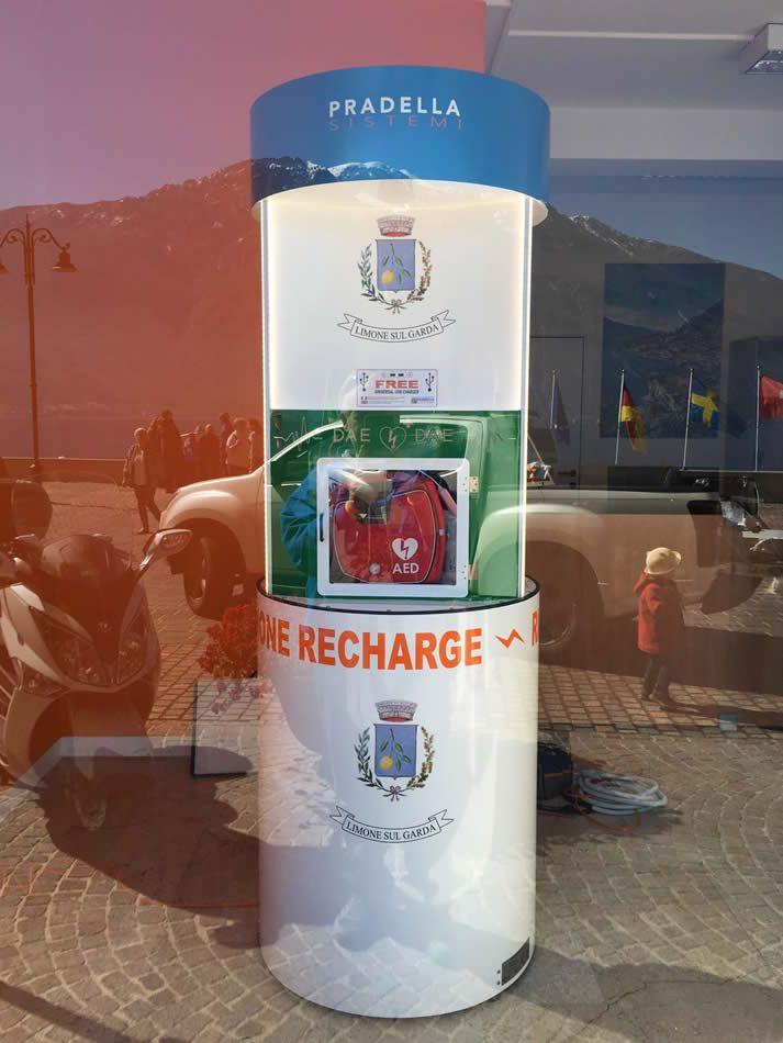 Charge Point Pila 1.03 DAE | Comune di Limone sul Garda