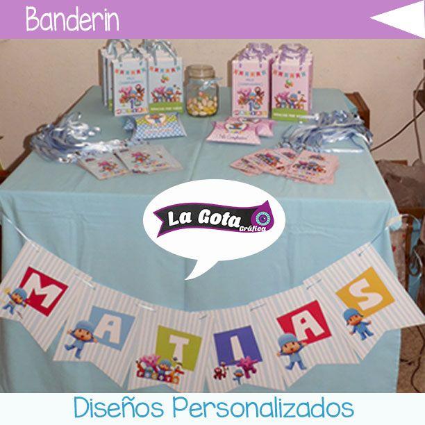 Banderín Pocoyo