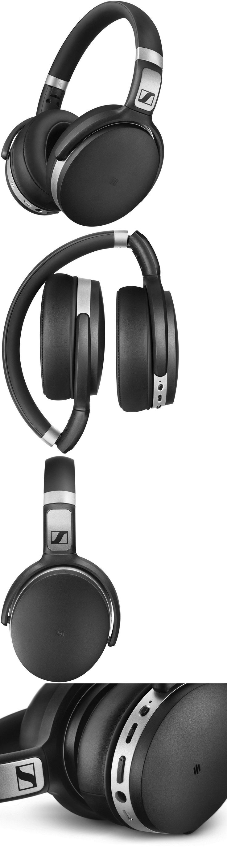 Headphones: Sennheiser Hd 4.50 Btnc Bluetooth Noise Cancelling Headphones W Warranty -> BUY IT NOW ONLY: $139.99 on eBay!