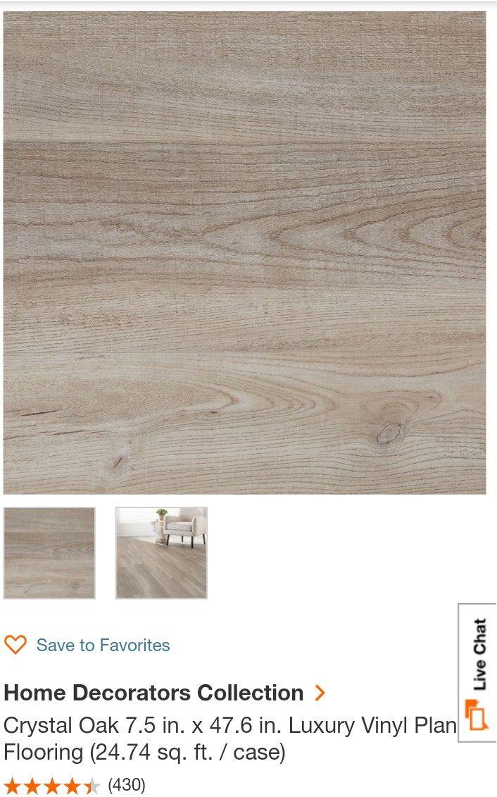 At Home Depot Crystal Oak Lvp Flooring Home Decorators Collection Luxury Vinyl