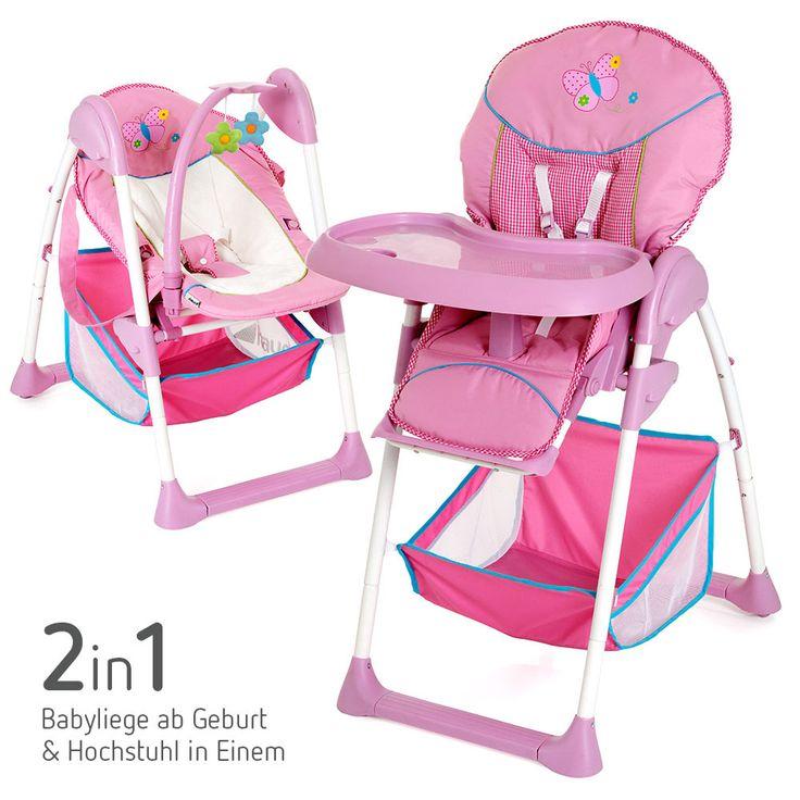 hochstuhl babyliege einem h henverstellbar komfortabel hauck sit 39 n relax butterfly. Black Bedroom Furniture Sets. Home Design Ideas