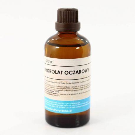 Hydrolat Oczarowy - W kosmetyce hydrolat z oczaru używa się do produkcji kremów, toników, maseczek, zwłaszcza do cery zanieczyszczonej, z zatkanymi porami, oraz do cery wrażliwej na zimno oraz wilgoć, z rozszerzonymi naczynkami krwionośnymi, a także alergicznej. Produkowane są również balsamy do ciała i szampony do włosów.