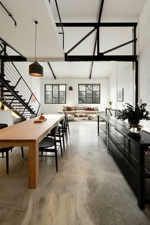 Industrial loft space