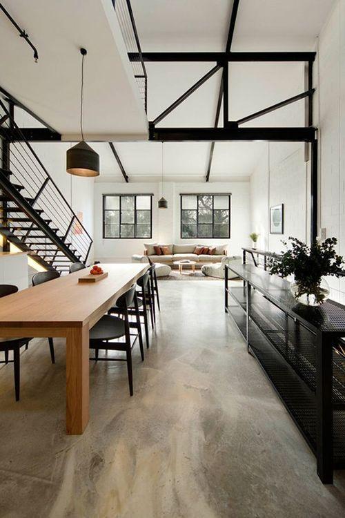 Industrial loft space