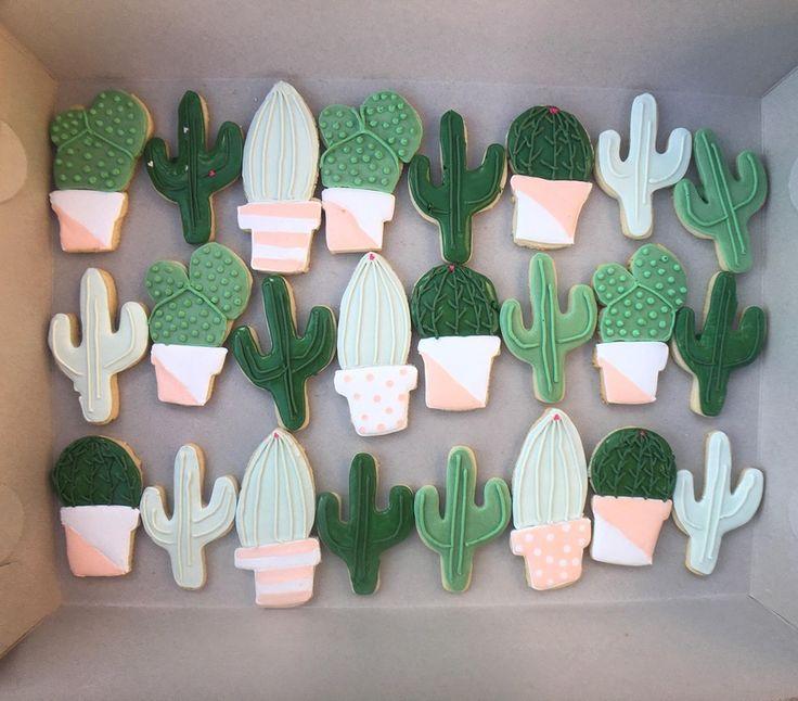 [Homemade] Cactus Sugar Cookies : food