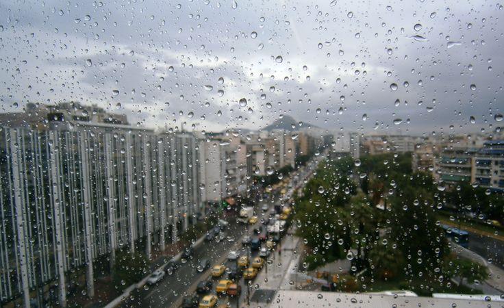 Rainy day...Syggrou aven. Athens GR
