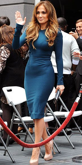 Dress up in a colorful shirt dress that compliments your figure. #celebrity #style #muse