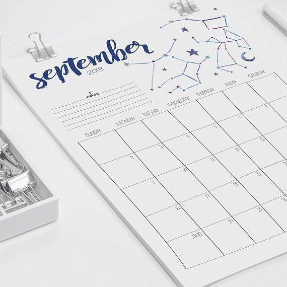 Best 25+ Printable monthly calendar ideas on Pinterest