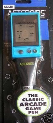 ATARI ASTEROIDS PEN HANDHELD VIDEO GAME!