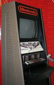 Nintendo M82 Store Display Demo Kiosk with Full Size Arcade style Cabinet 190x300