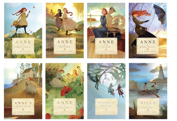 The most beautiful edition of Anne of Green Gables that I've ever ever ever seen (Tundra Books paperback edition)