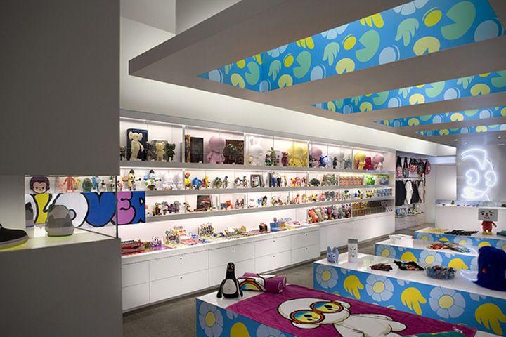 Kid Robot store by Mash Studios, Miami store design