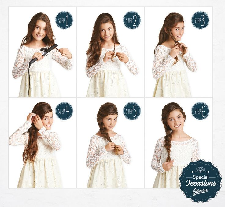 Hair style for special occasions #Braids #HairStyle #FashionKids #Girl #OFFCORSS >> http://www.offcorss.com/girl