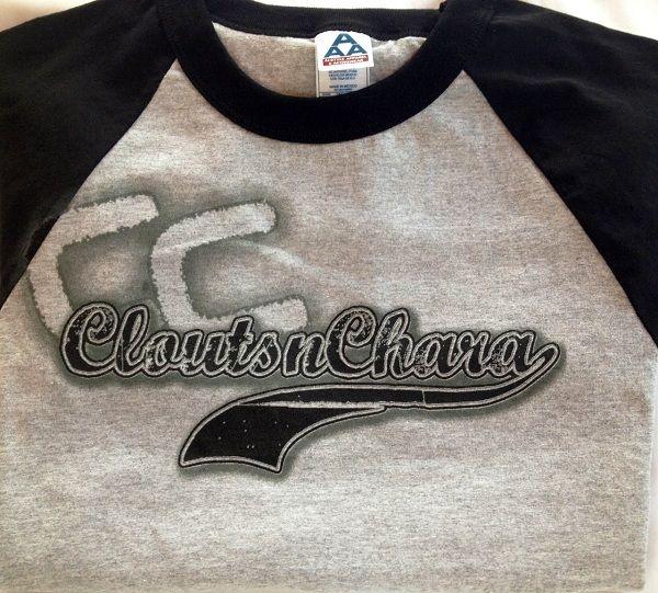 Cloutsnchara Baseball Style T-Shirt