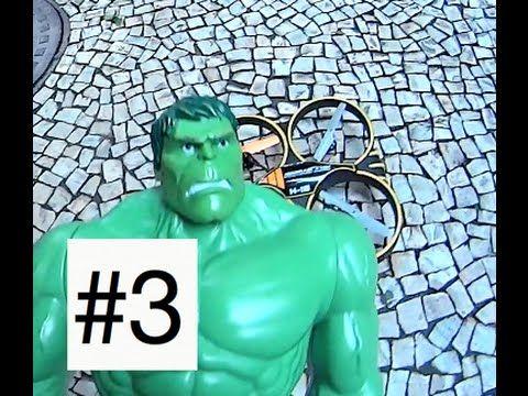 #3 Drone Sky Storm H-18 Candide Hulk Arqueiro Verde Wolverine Coringa Jo...