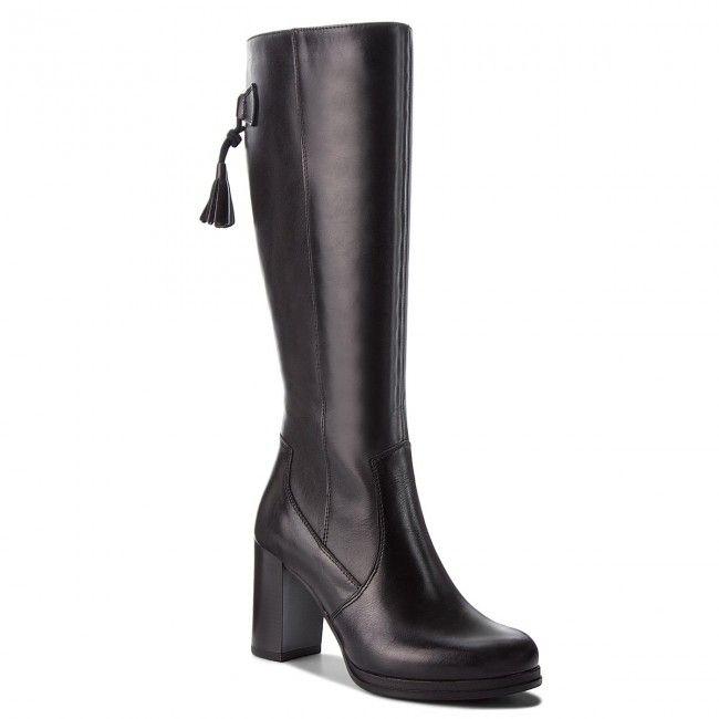 Kozaki Lasocki 0035 04 Czarny Boots Heels Heeled Boots