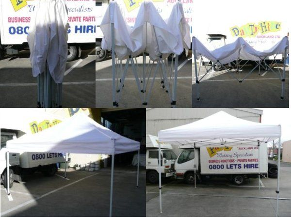Ezi-Up Canopies for hire.