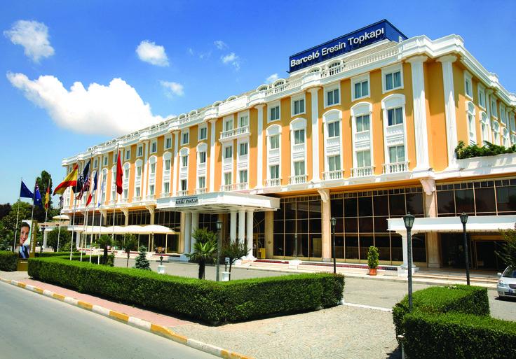 Barceló Eresin Topkapi, Turkey. http://www.barcelo.com/barcelohotels/en_gb/hotels/turkey/istanbul/hotel-barcelo-eresin-topkapi/general-description.aspx