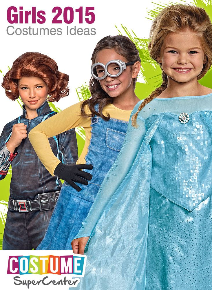 Checkout This Year\u0027s Hot New Girls Halloween Costume Licenses