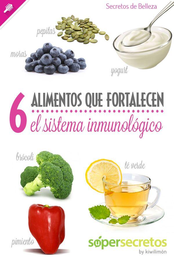6 alimentos que fortalecen al sistema inmunológico