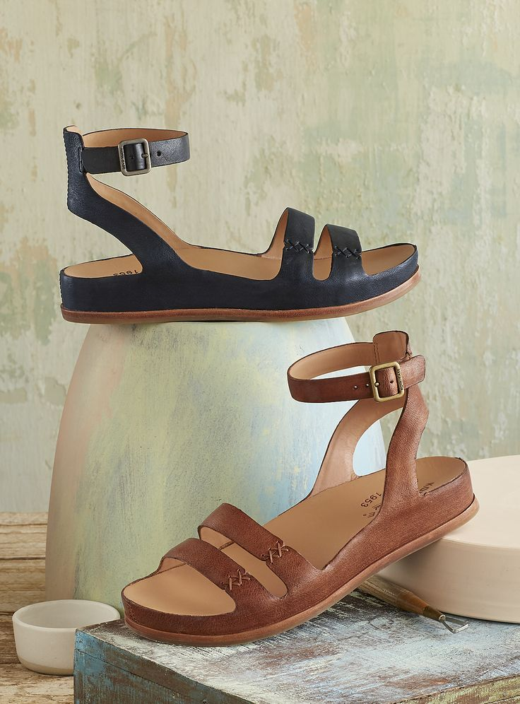 Audrina Sandals - classic, leather Kork-Ease® sandals.