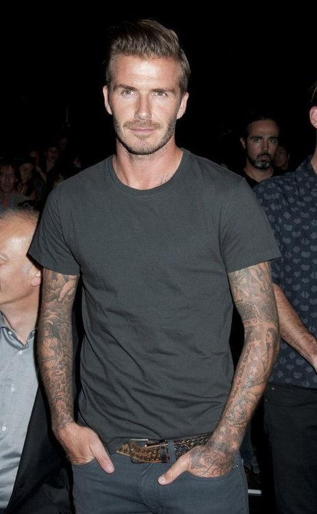 David Beckham (until he opens his mouth, of course)