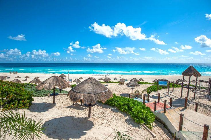 Aquí las playas públicas de Cancún, cuáles son y dónde están a lo largo de los 23 kilómetros de la Zona Hotelera de Cancún. ¡Vacaciones en Cancún!
