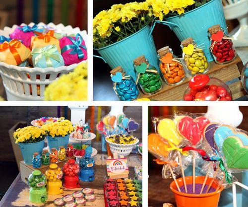 Festa Arco-Íris - Festa infantil tema Arco-Íris. Contato…                                                                                                                                                                                 Mais