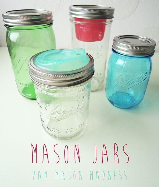 Mason Jars van Mason Madness (+ winactie!) - IKBENIRISNIET
