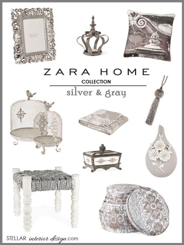 Zara Home, Interior Design Boards, Gray Home Décor, E Design, E