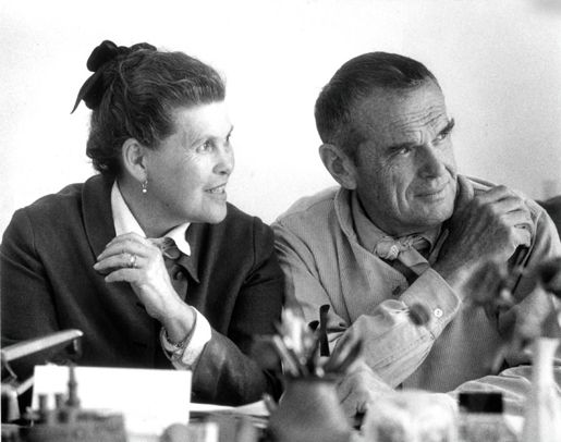 Charles Eames (1907–1978), Ray (1912–1988) US Design