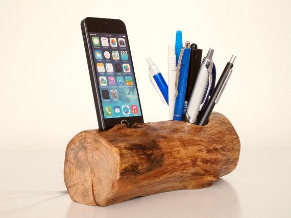 iPhone Dock plus Vase charging station docking by valliswood