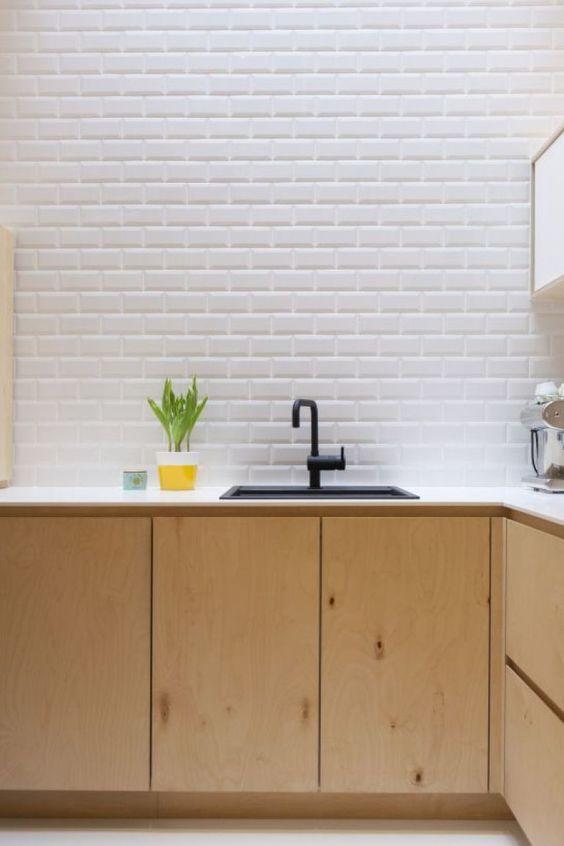 17 mejores ideas sobre cocinas de madera contrachapada en ...