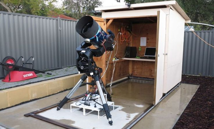Discovering New #Exoplanets - #Astronomy #Perth | Particle    PEST (Perth Exoplanet Survey Telescope)