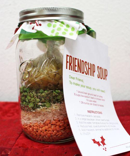 Friendship Soup In A Jar Recipe