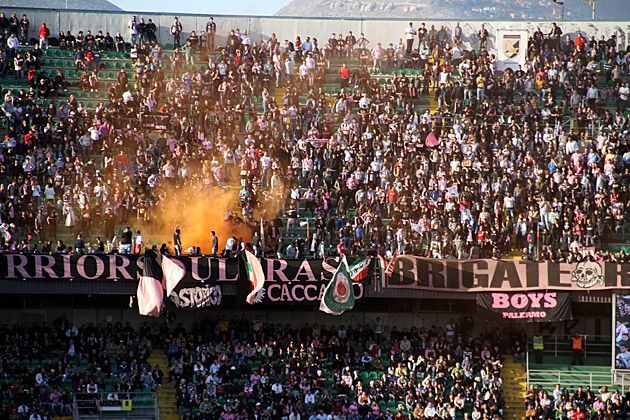 Went to a U.S. Città di Palermo game and had a blast!