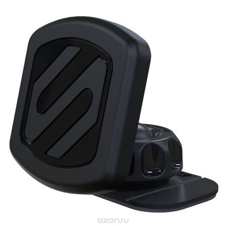 Scosche MagicMount Original (MAGDMI) автомобильный держатель для смартфона  — 1713 руб. —  Магнитный автодержатель Scosche MagicMount Original предназначен для крепления телефонов, смартфонов, GPS навигаторов, других мобильных устройств на приборной панели автомобиля или другой поверхности (офисный стол, поверхность кухонного стола). Отсутствие зажима упрощает фиксацию телефона или планшета. Гаджет возможно повернуть на 360°. Scosche MagicMount Original состоит из двух частей: магнитного…