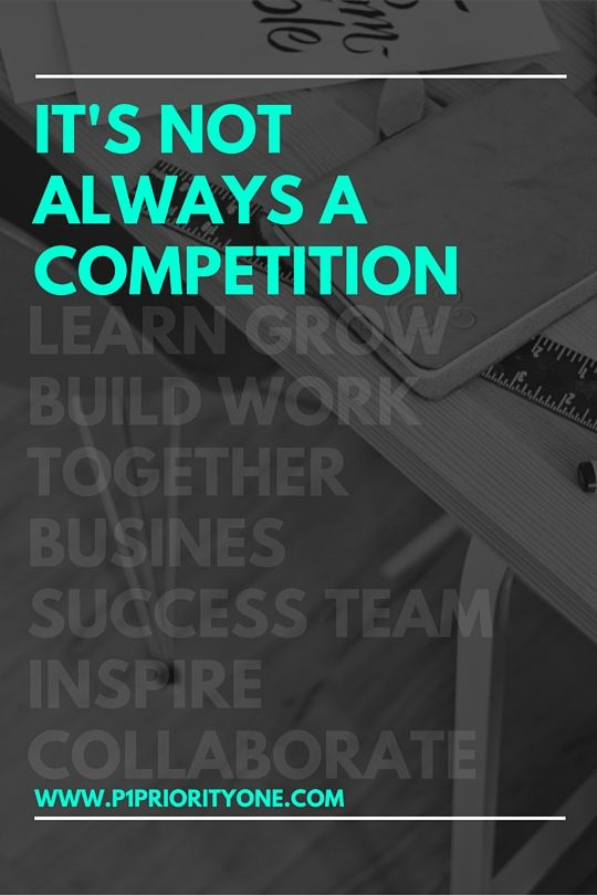 People of a particular industry often have a fear of their competitors. The idea of befriending, let alone working with someone in their same line of work is the last thing that would cross their mind.    But why does it have to be a competition?    I love meeting... Click for more...