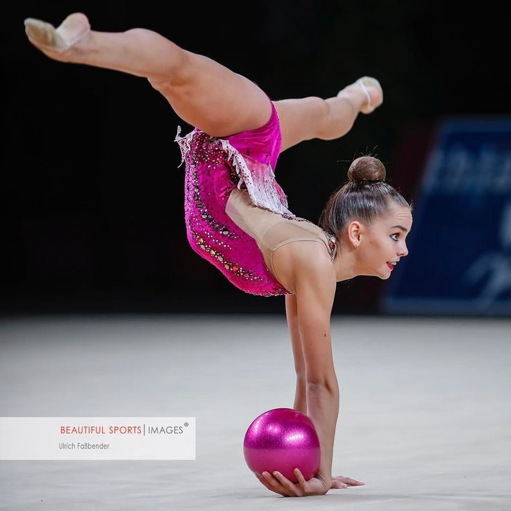 """6,653 Likes, 80 Comments - Moving Motions in Rhythmic Gym (@ulrichfassbender) on Instagram: """"New ribbon leotard for Dina Averina @ #gpthiais2017 finals. Do you like it or not ? The reactions…"""""""