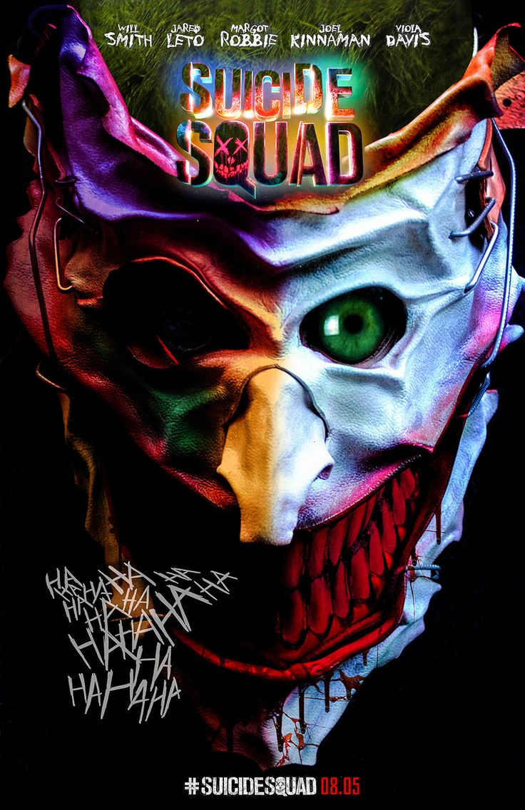 """""""Visual art inspired by Suicide Squad"""""""